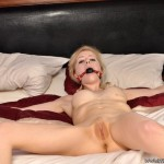 Suspended upside down brunette cutie suffering rough whipping. tags: naked girl, bondage, perfect tits.