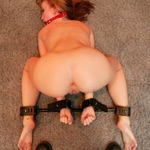 Tied tits and punished submissive wives