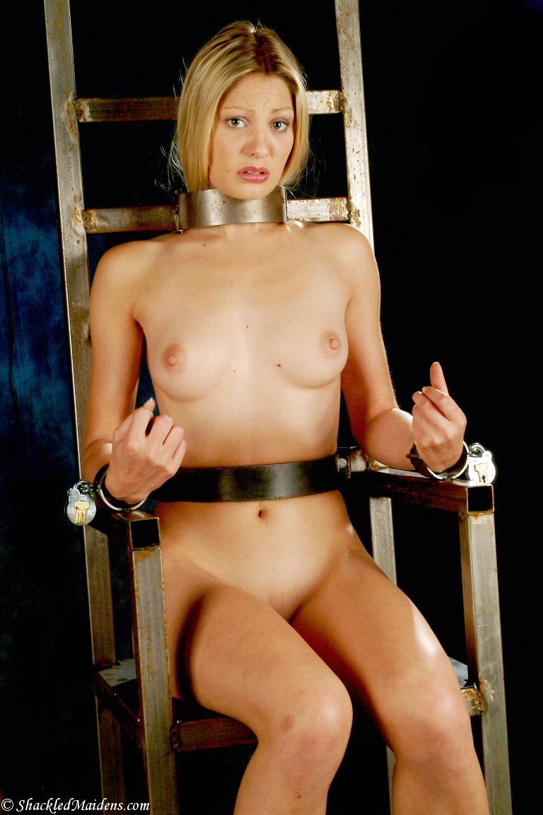 Girl on chair restrained and tickled by mistress 4